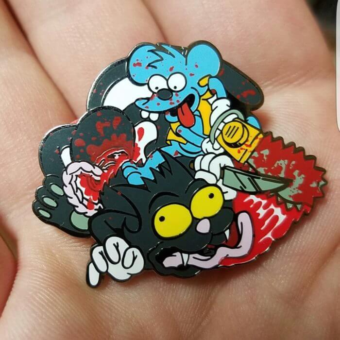 Cartoon related pins
